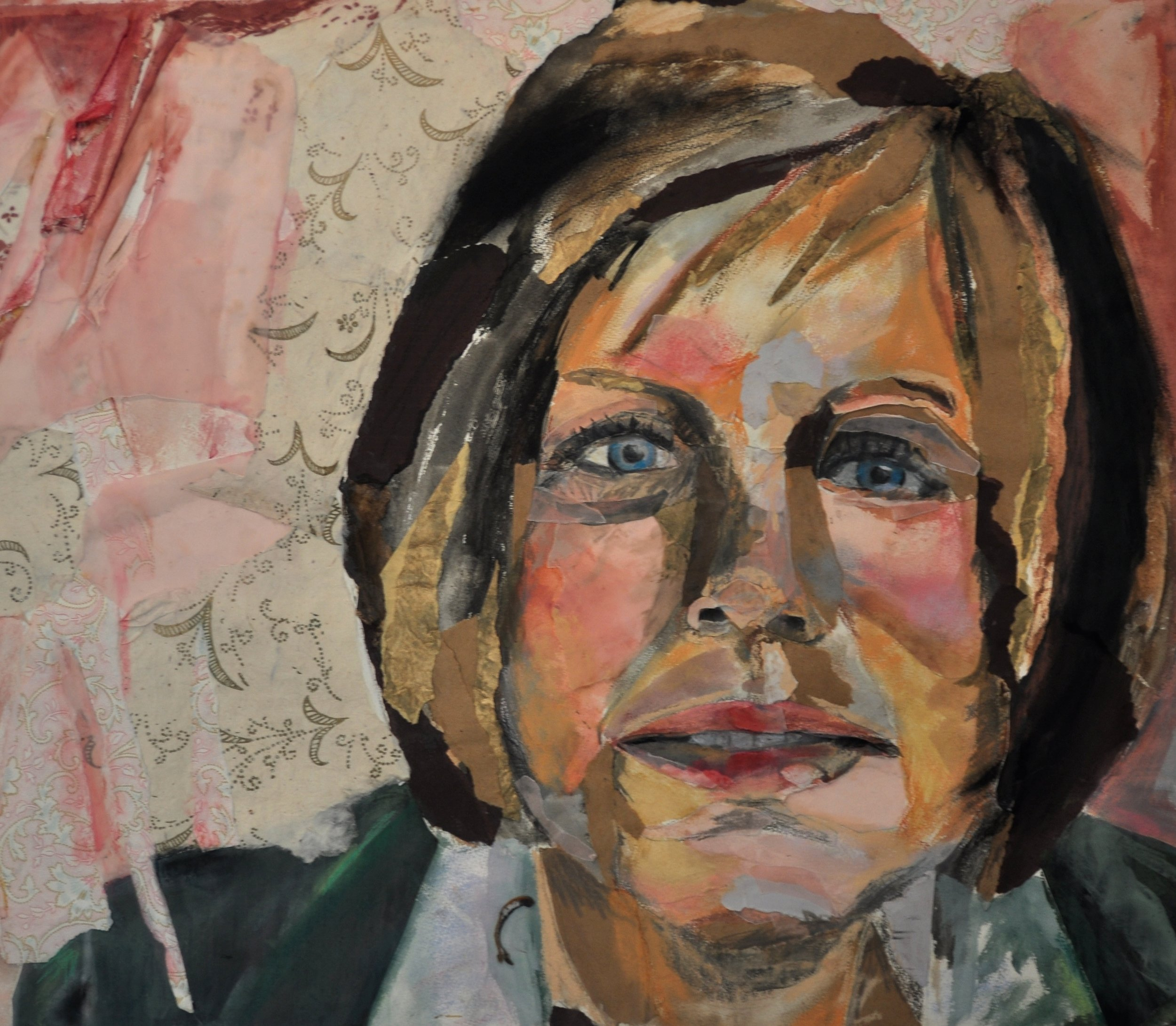 """Mother Fairchild""   mixed media  - Vanessa DeYoung"