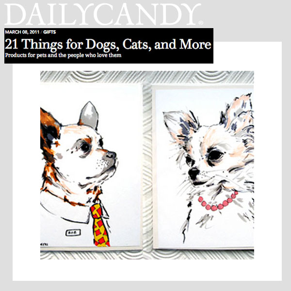 Daily Candy - 21 Things For Dog Lovers