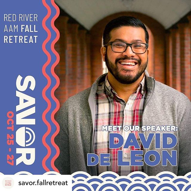 Great news regarding our upcoming Asian American student conference! We love David! Excited for what the Lord has in store. Pray for a great conference! #aam #everycorner #fallretreat #retreatseason #didyoueattoday #letsgo • @savor.fallretreat Big announcement!!! Our speaker this year is David de Leon! David has been on staff for eleven years, and currently leads InterVarsity's Global Urban Trek, an international summer immersion and discernment program for college students exploring justice at the intersection of global poverty and faith. Prior to this, he was a team leader at UC Berkeley, leading the Pilipino ministry and supervising BCM and LaFe staff. Originally from Vallejo, CA, he and his family now reside in New Haven, CT as he is working on his Master of Divinity degree at Yale Divinity School. He writes, teaches, and reflects on Pilipino/Pilipino American identity and faith.  He also bakes bread.