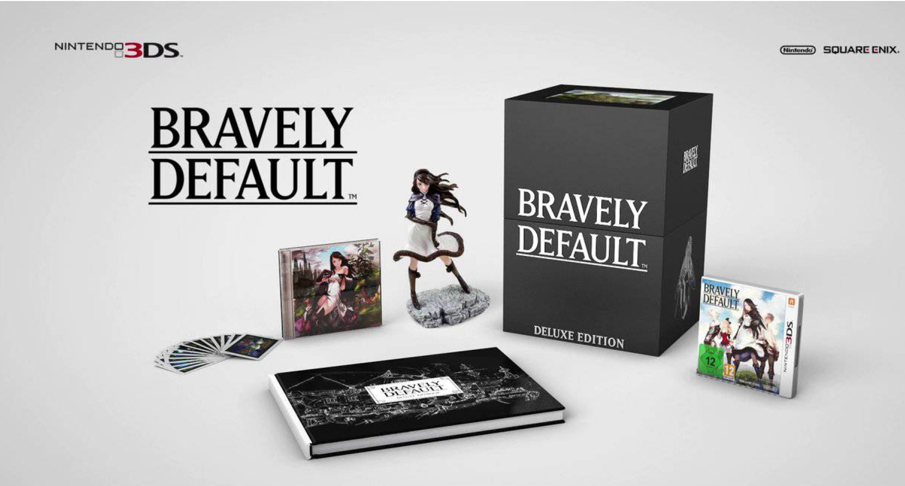 BRAVELY DEFAULT REVEAL COLLECTOR EDITION