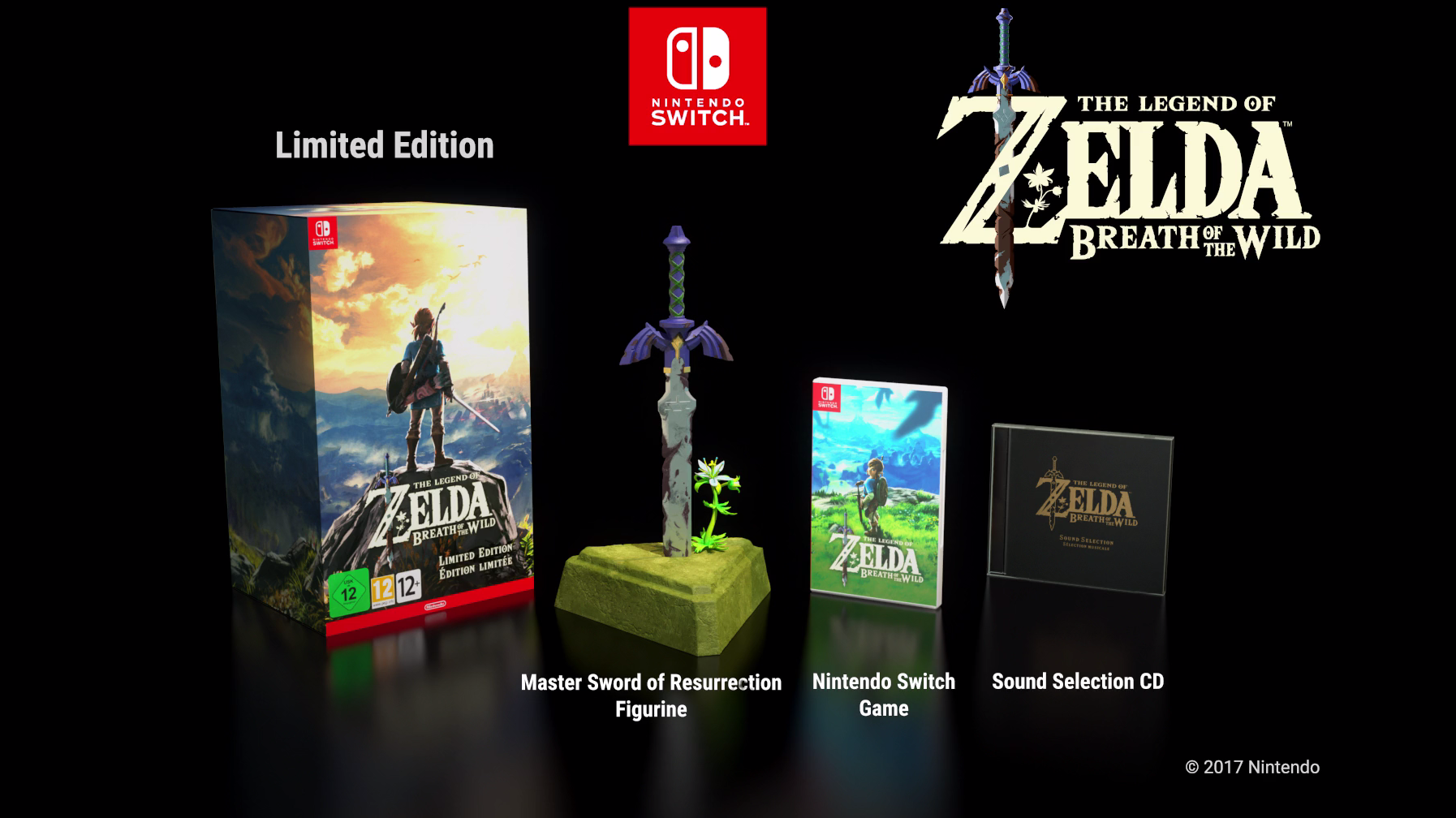NINTENDO SWITCH ZELDA COLLECTOR EDITION