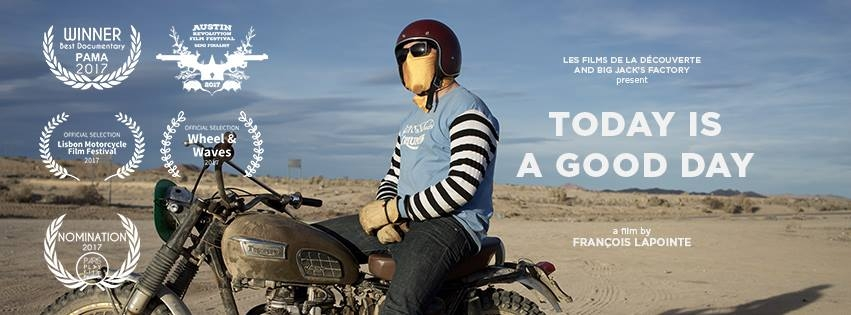 "Documentary by Francois Lapointe / Florent Igla "" Today is a good day"" Coming Soon"