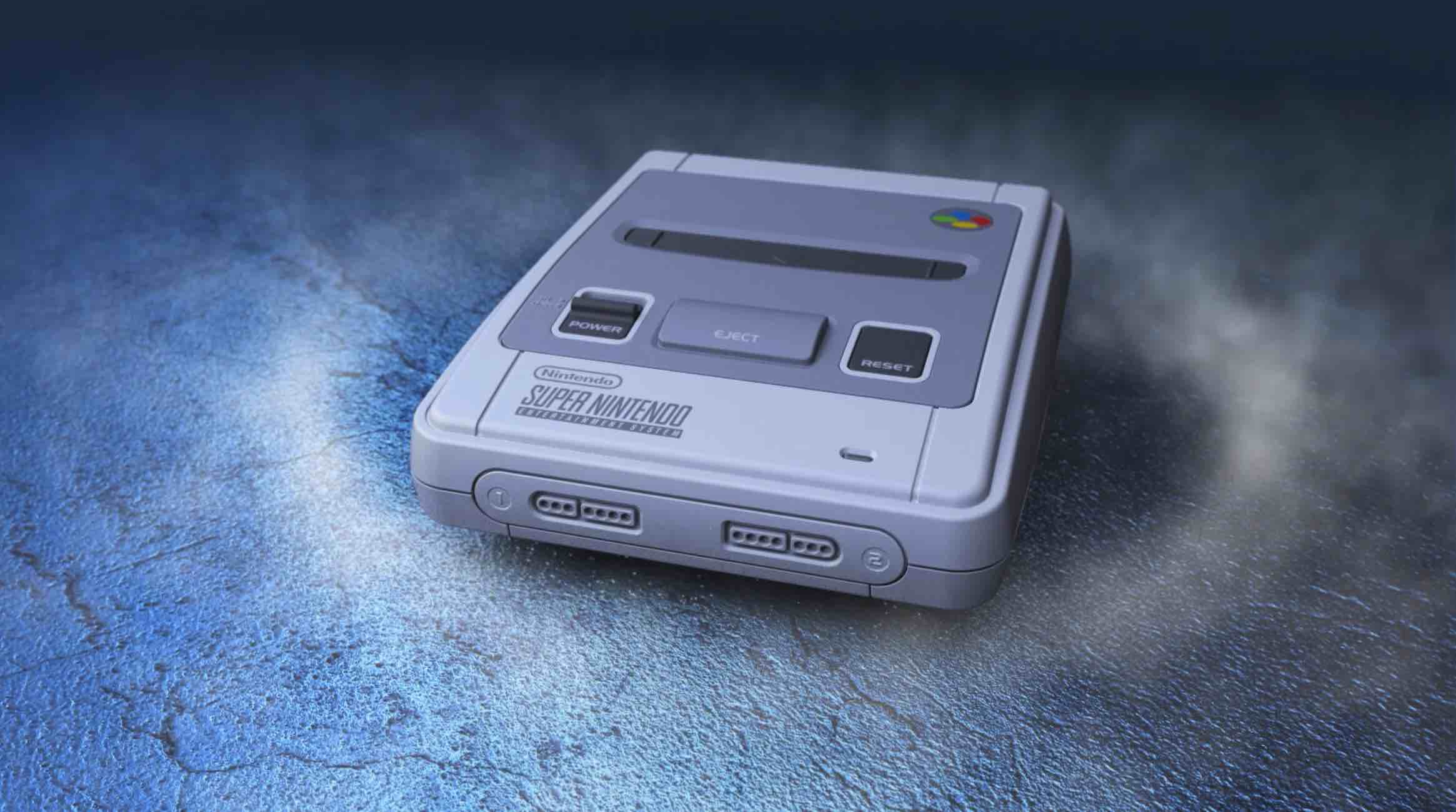 NINTENO Super Nes Mini Trailer