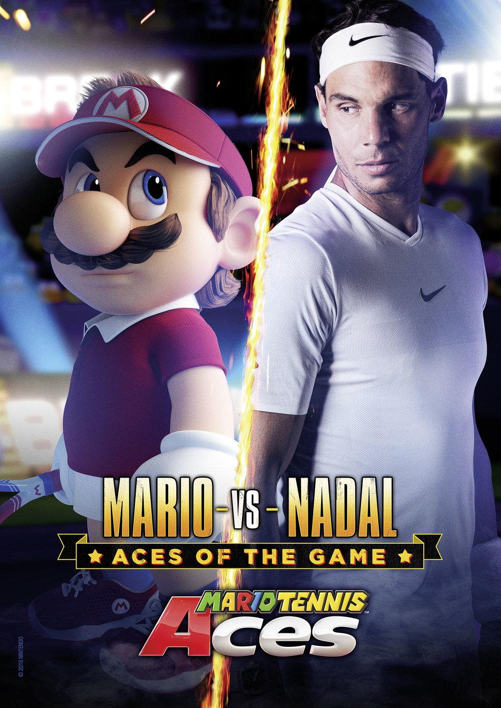Nintendo Mario Tennis Print Ad