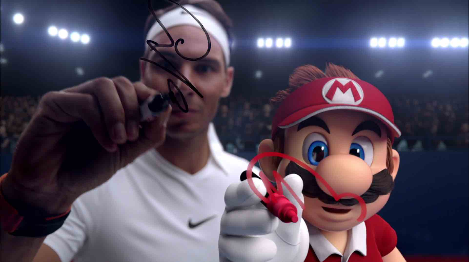 Nintendo Mario Tennis Aces of the Game