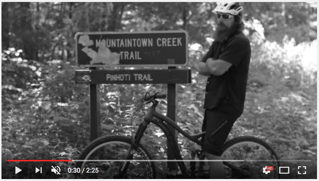 Mountaintown Creek Trail with Big Ben - Time To Ride!