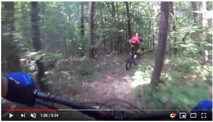 Let Dondi show you down the infamous descent of the River Loop Trail.