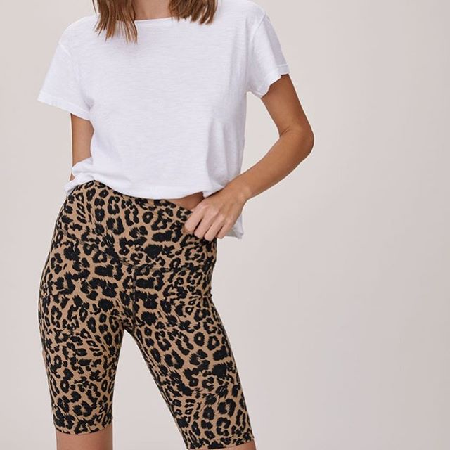 Me-OW! For the love of leopard… - That's right, leopard biker shorts—the closet item you never knew you (really) needed.SHOP THE EDIT NOW