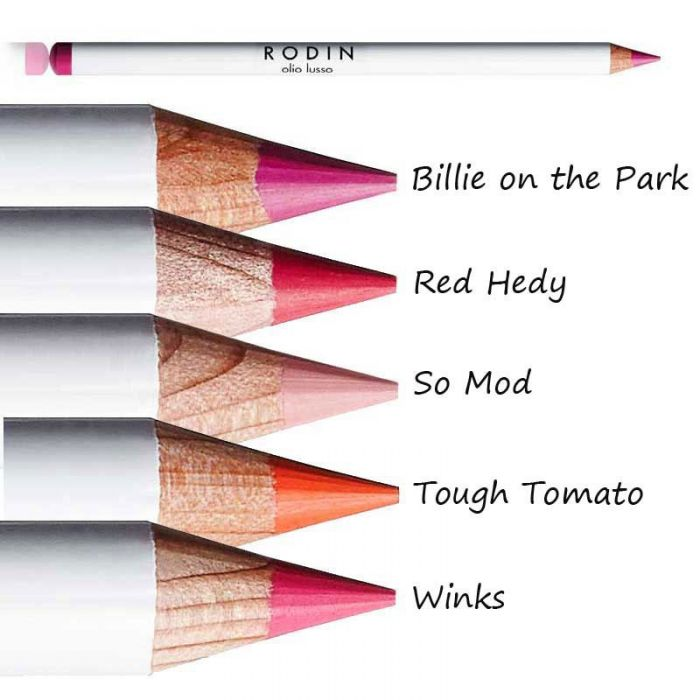 Pair it with a pencil - Shop Rodin olio lusso Lip Pencils Now
