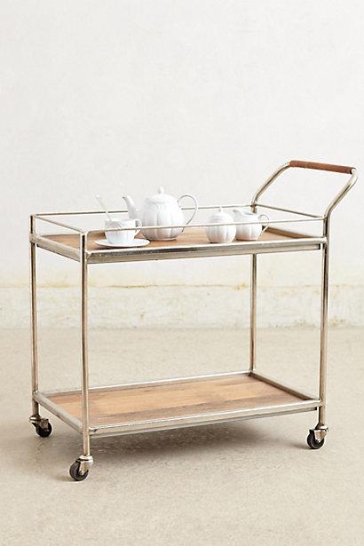 Bar cart, $498 Anthropologie