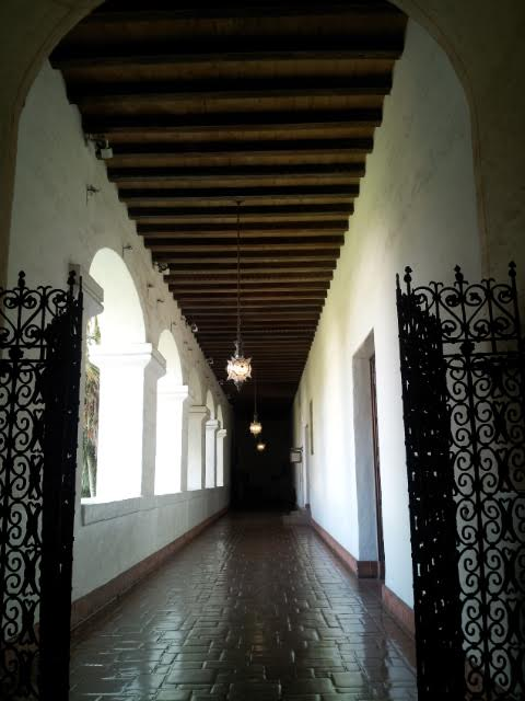 One of the many beautiful hallways I found here. Everywhere I turned had something gorgeous!