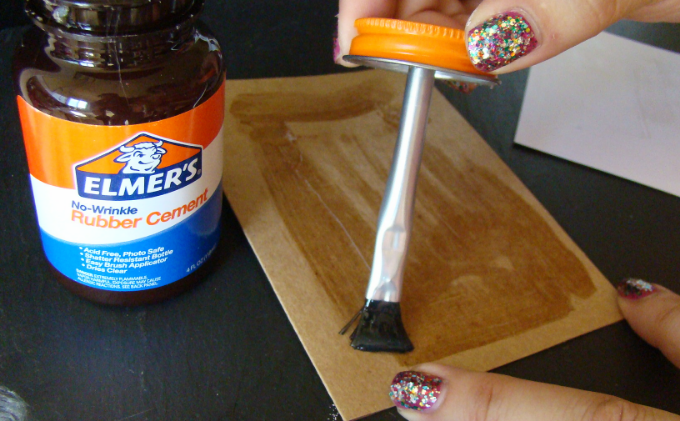 The secret to rubber cement is to glue both surfaces your sticking together!