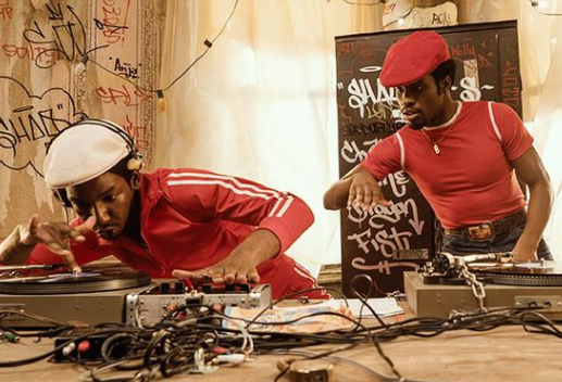 Grandmaster Flash and Shaolin Fantastic from The Get Down