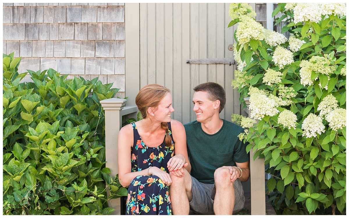 Sconset Nantucket Surprise Proposal