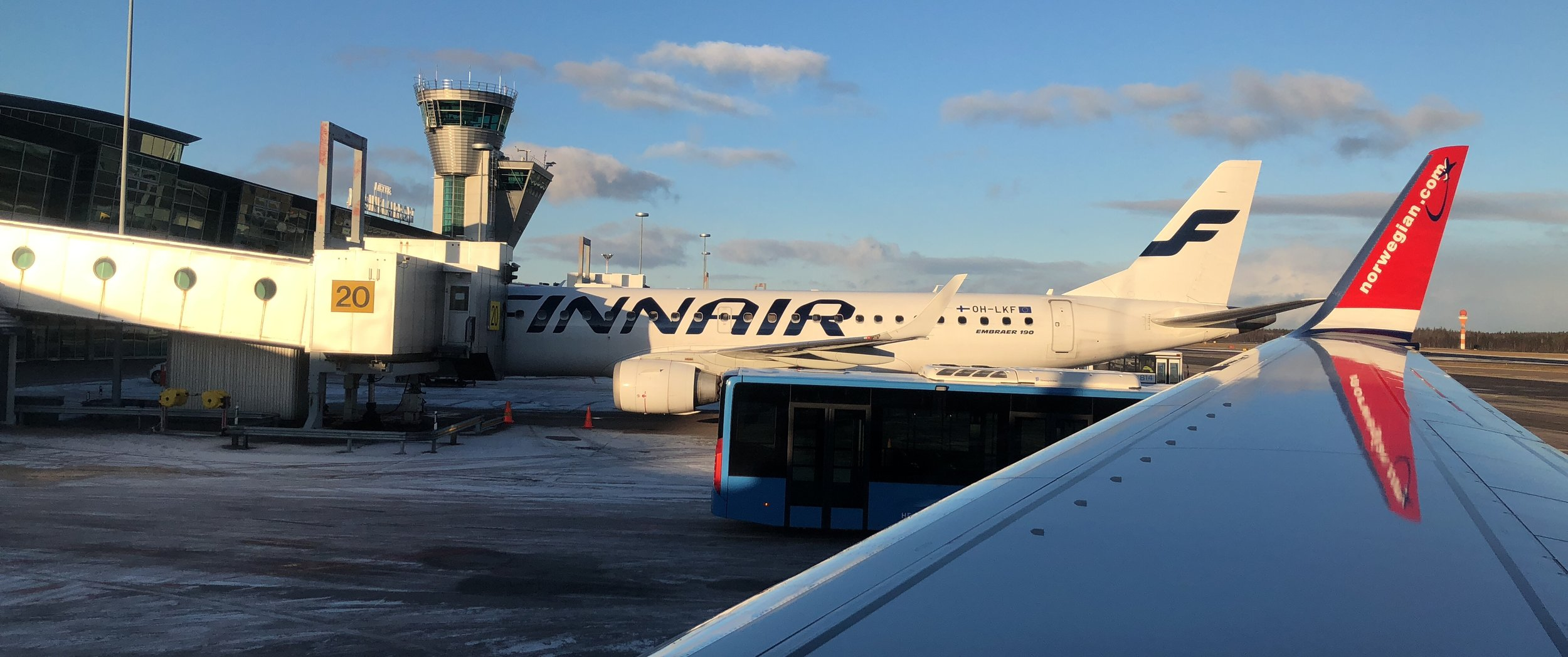 Finnair and Norwegian Air have cheap flights to Lapland from cities nearby.