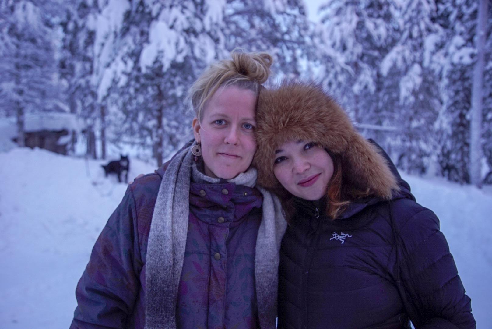 My soul sister Kati and me