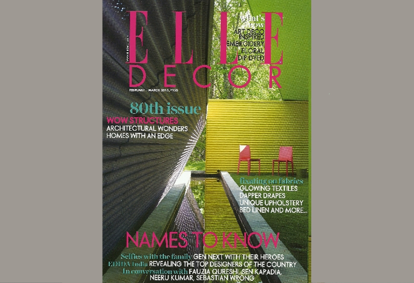 ELLE DECOR Feb-Mar 2015