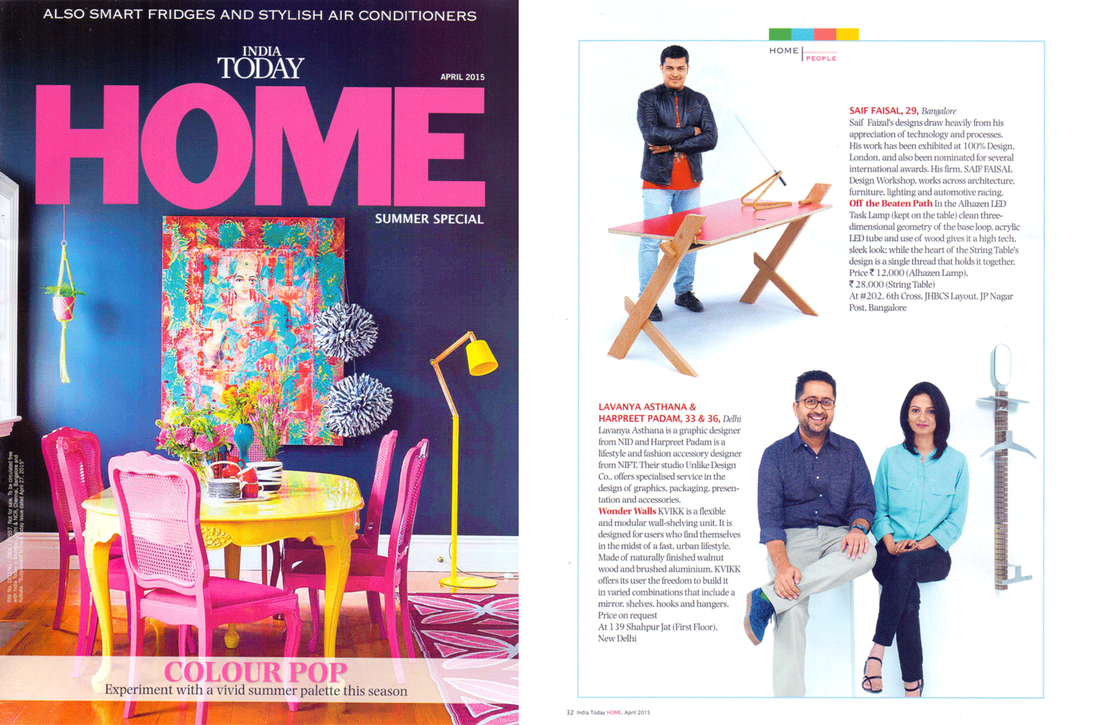 INDIA TODAY HOME April 2015