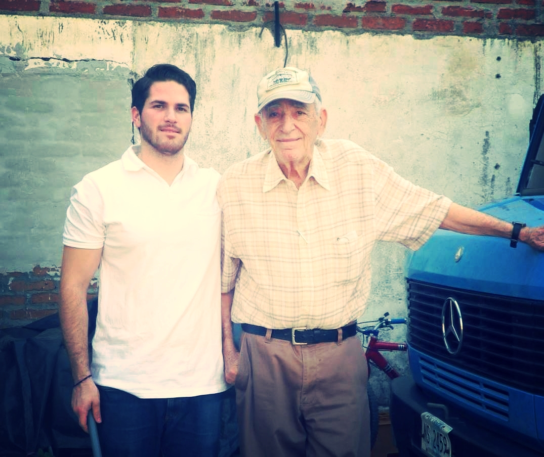 Second and fourth generation…Don Rene with grandson Danny