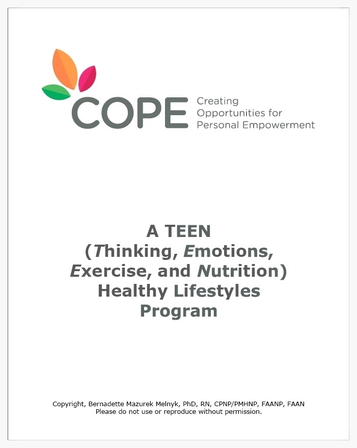 COPE 15-session TEEN manual/workbook