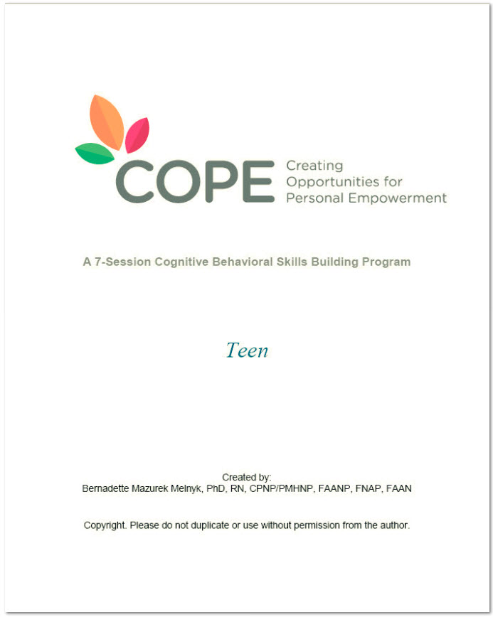 COPE 7-Session Manual-based Programs