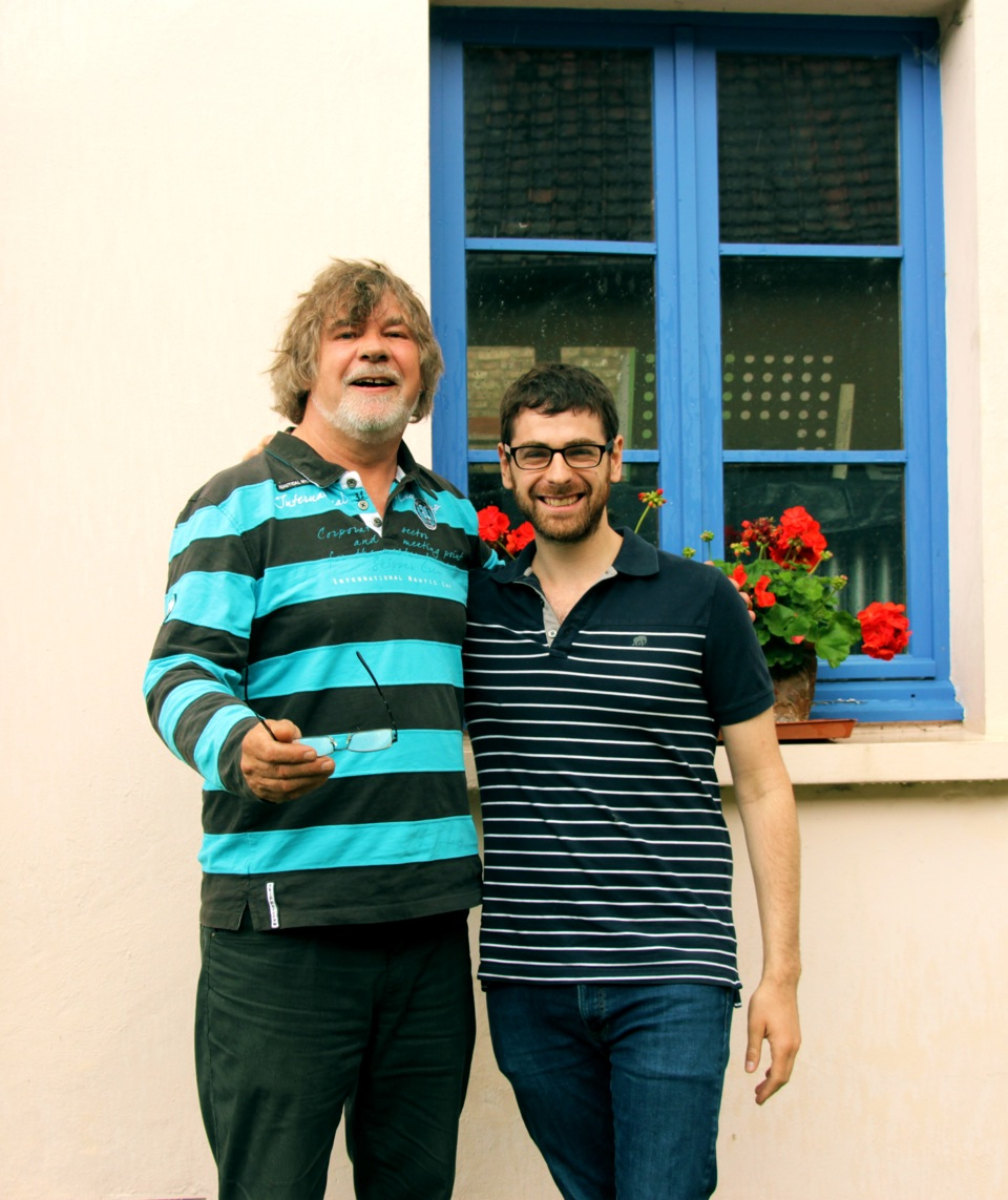 didier vérité and myself (amiens, france 2014)