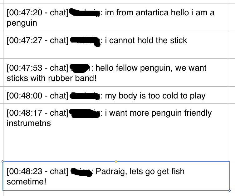 a small penguin-tangent happened.