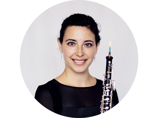 "sarah lewis, oboe - Detroit Symphony""this course was exactly what I needed to put me on track with a specific plan to achieve my audition goals. I'm so grateful that I enrolled, because it helped me win the 2nd oboe audition in my hometown orchestra, the Detroit Symphony Orchestra!"""