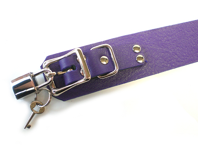 """electric purple - small 3/4"""" buckle"""