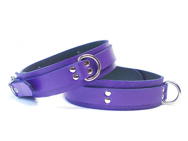electric purple - dbl rivets