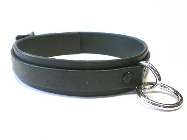 black latigo - black rivets