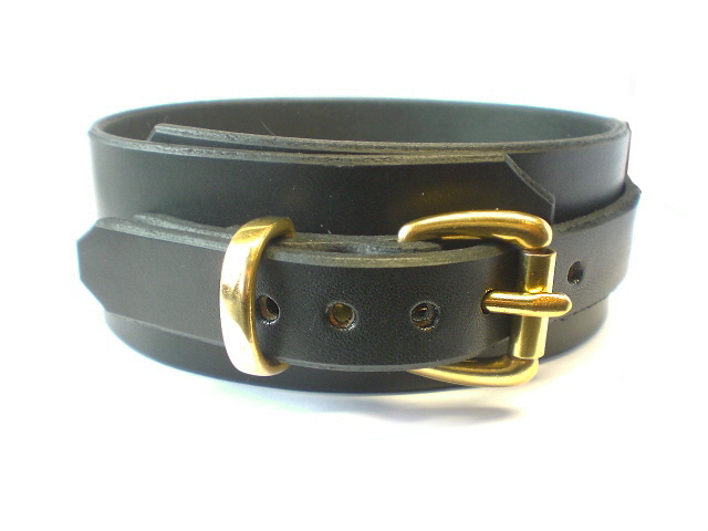 black bridle leather