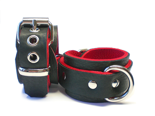Leather BDSM Restraints