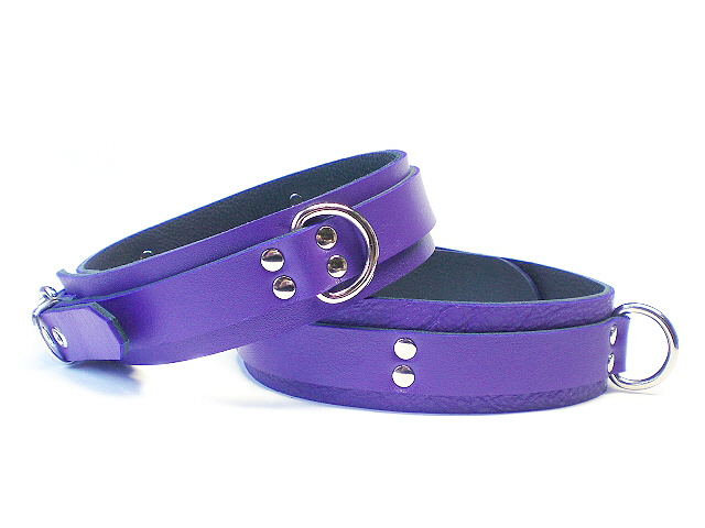 electric purple - double row rivets