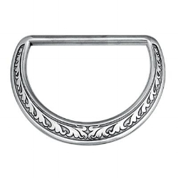 Horseshoe Brand floral dee ring