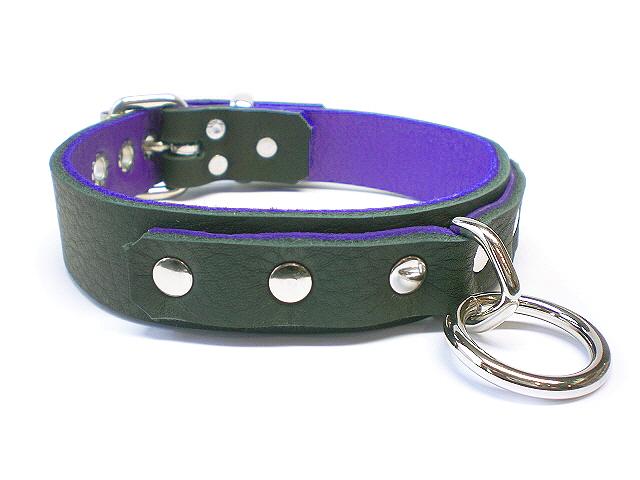 soft black w/purple inlay