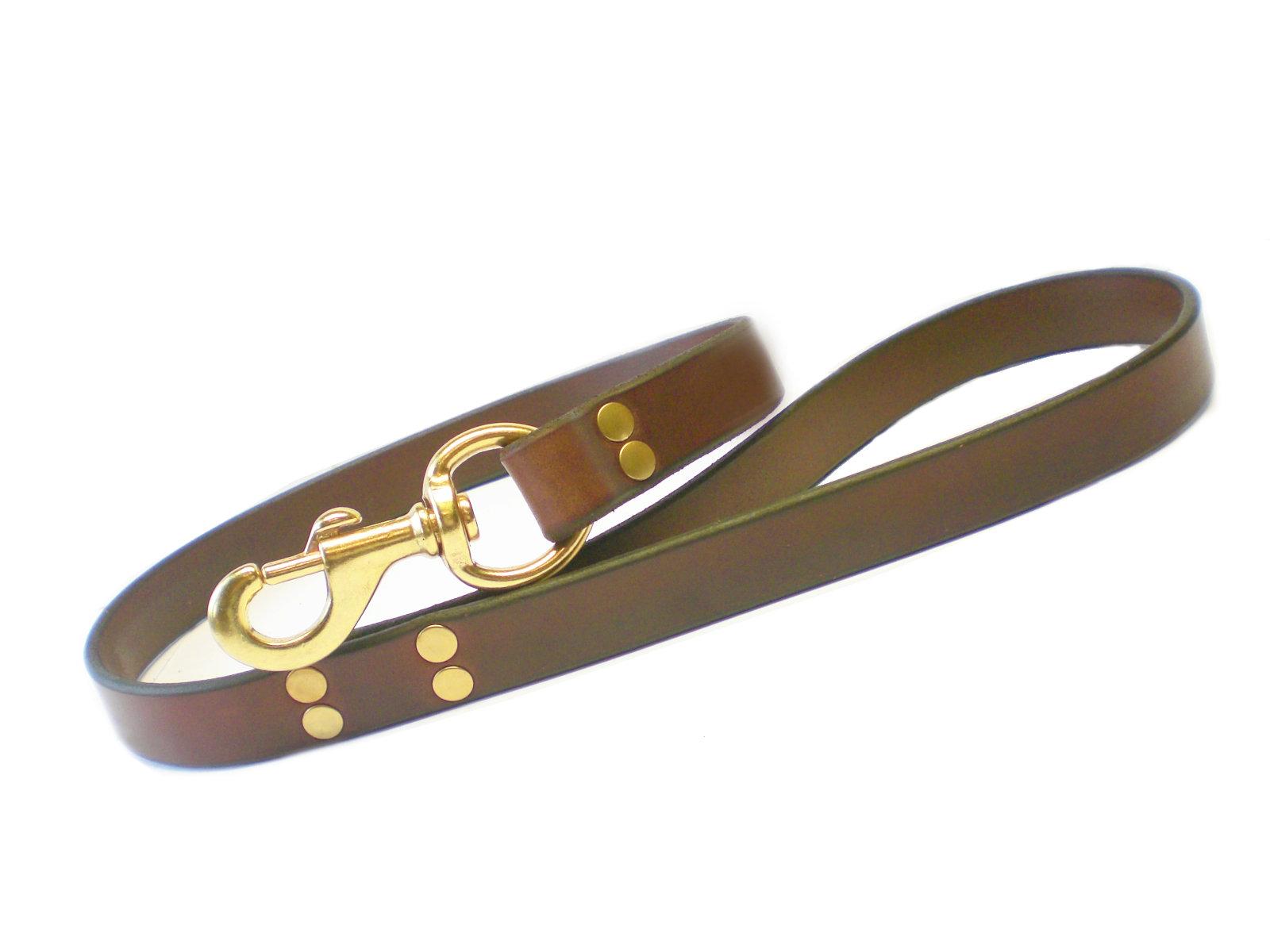 brown bridle w/solid brass hardware