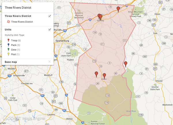 Click for interactive map