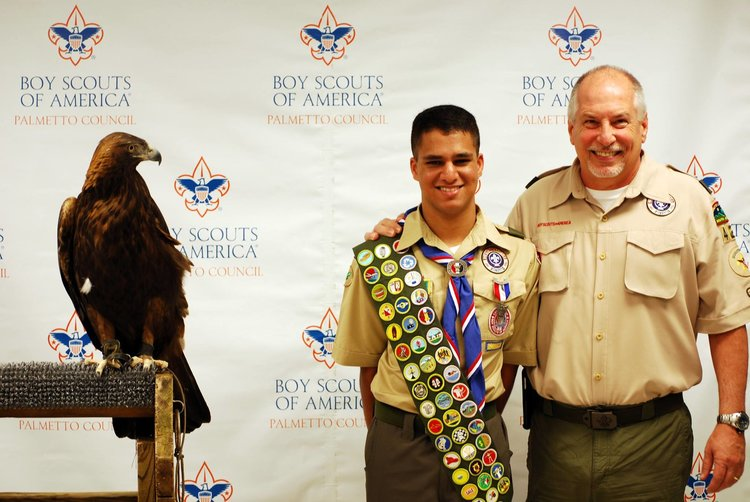 Photos with the Eagle!