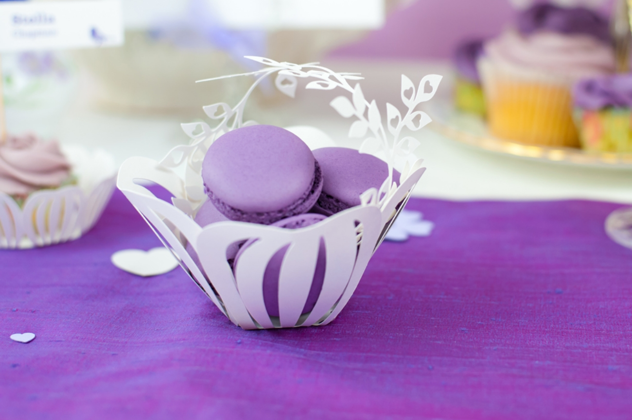 Small baskets to hold sweets or other small favours