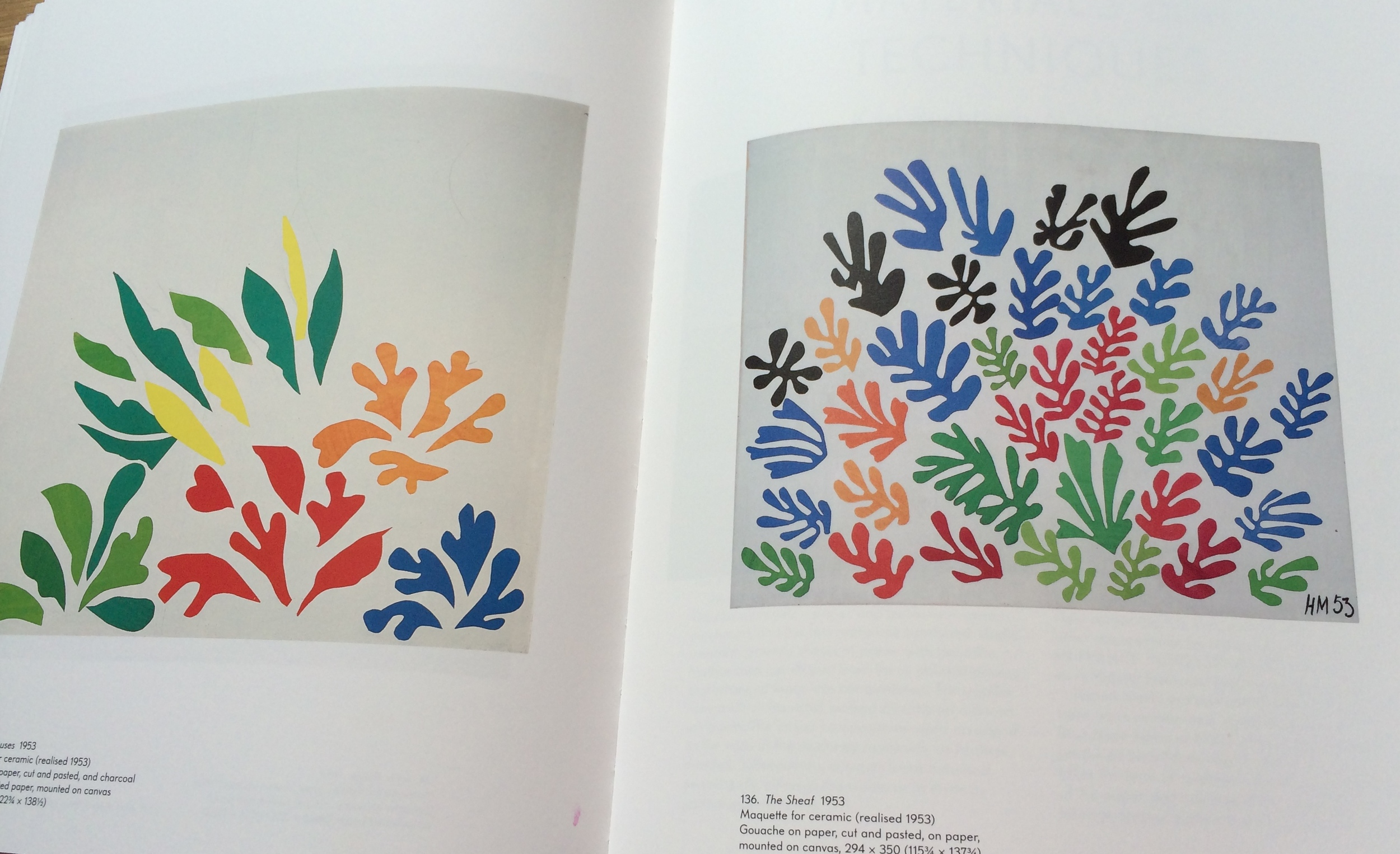 Ooo these Matisse leaves look a bit like the ones on my Woodland Christmas range