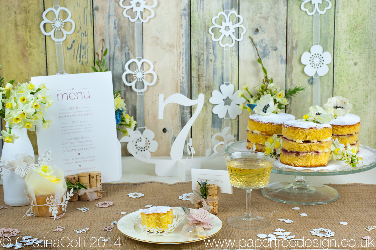 Rustic Woodland Wedding Table Number