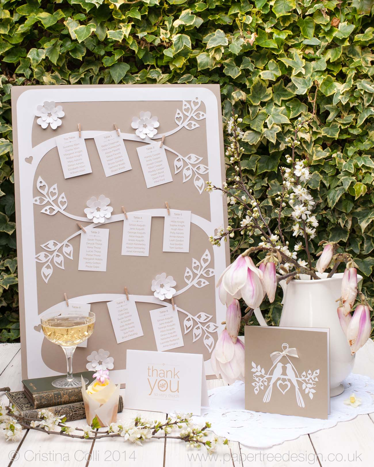 Tree Branches table plan
