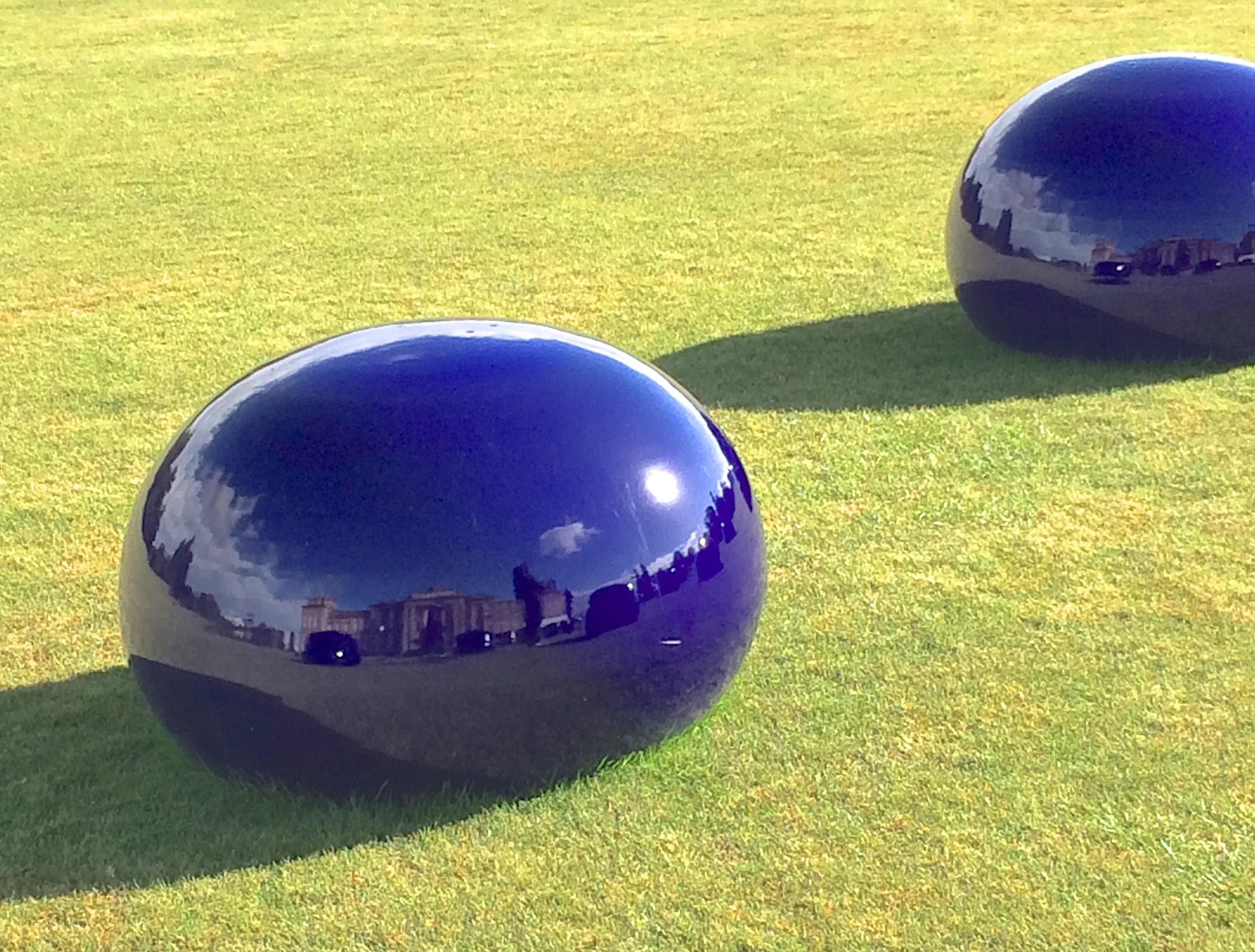 I Weiwei bubble Blenhiem Palace reflection