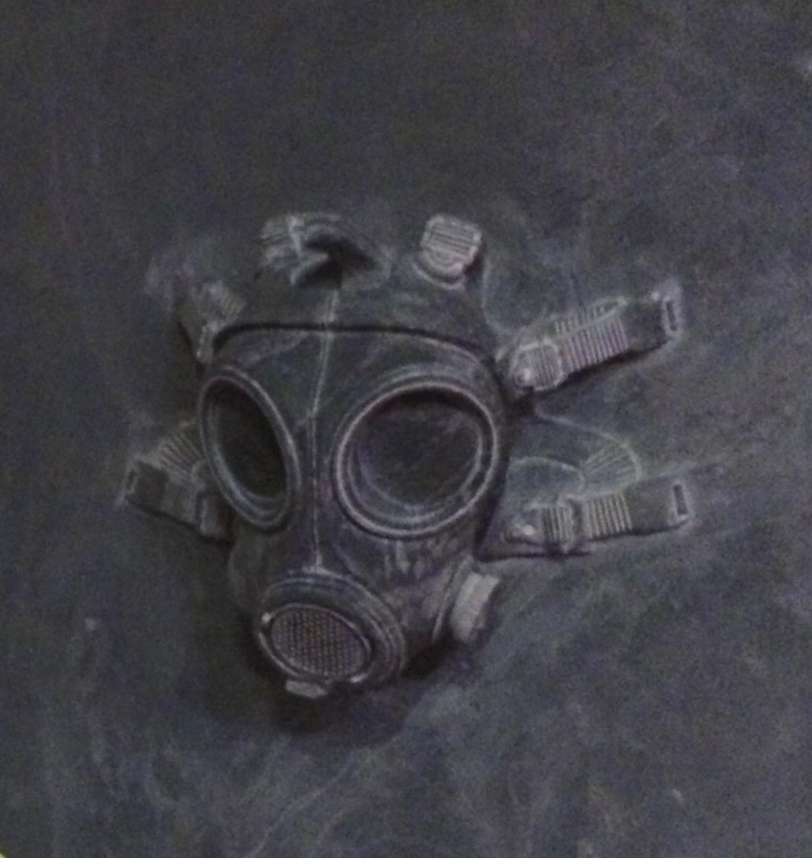 I Weiwei gas mask Blenhiem Palace