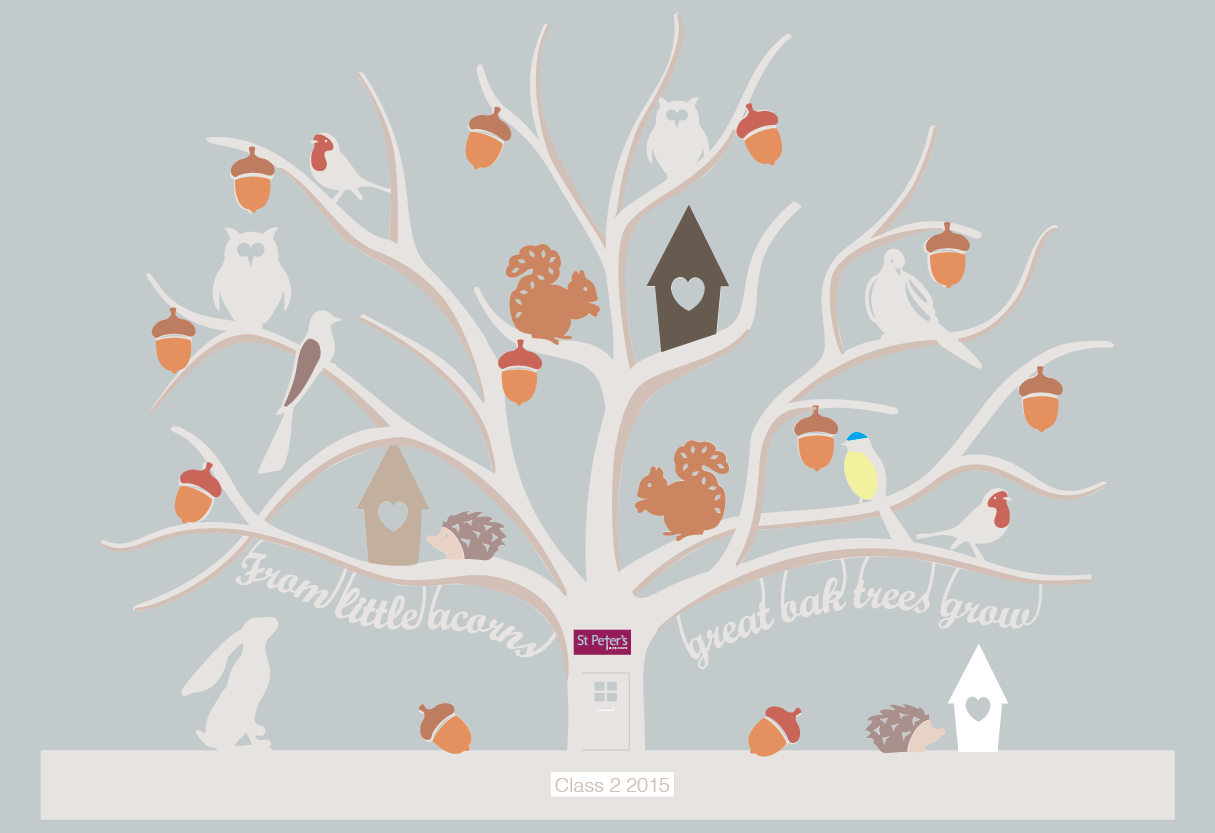 A few tweaks to the tree and the illustrator file starts to take shape.