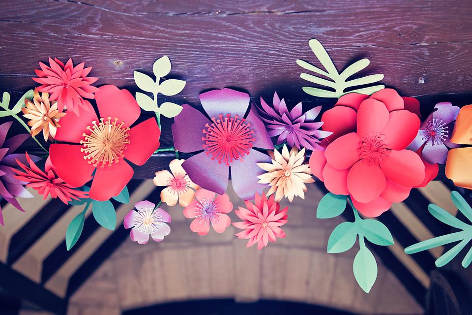 Paper Flower detail
