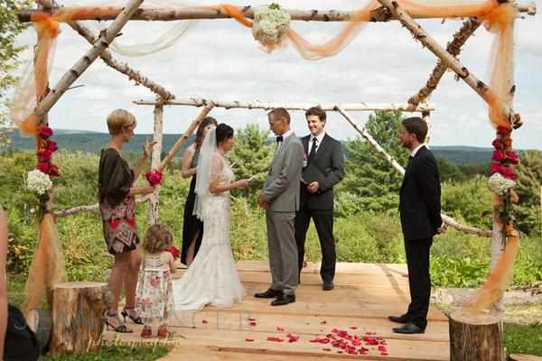 Scenic Wedding in the Berkshires