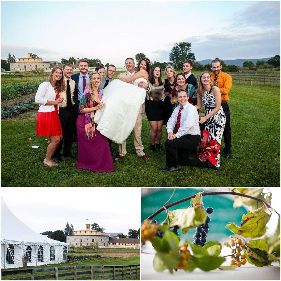 Farm Wedding in the Berkshires