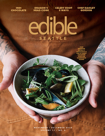 Edible Seattle  - November/December Issue